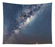 Milky Way And Mars Tapestry