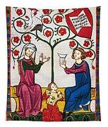 Minnesinger Lieder Tapestry