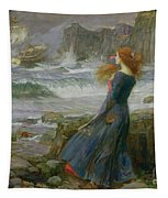 Miranda Tapestry by John William Waterhouse