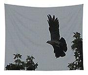 Mississippi Kite In Flight Tapestry