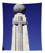 Monumento Al Divino Salvador Del Mundo Tapestry