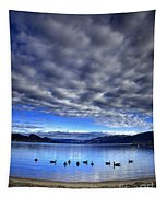 Morning Light On Okanagan Lake Tapestry
