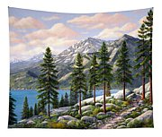 Mountain Trail Tapestry