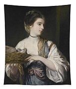 Nancy Reynolds With Doves Tapestry