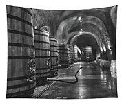 Napa Valley Wine Cellar Tapestry