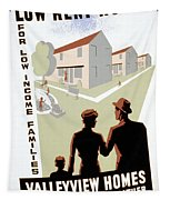 New Deal: Wpa Poster Tapestry