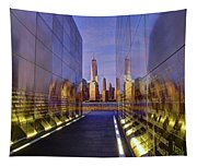 New Jersey Empty Sky 9-11 Memorial Tapestry