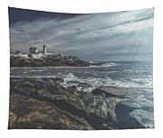 Nubble Lighthouse Tapestry