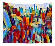 Nyc View Tapestry
