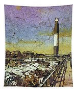 Oak Island Lighthouse Tapestry