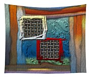 Obstructed Ocean View Tapestry