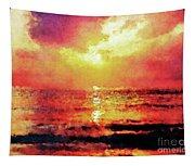 Ocean Sunrise Tapestry
