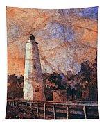 Ocracoke Island Lighthouse Tapestry