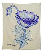 Oh Poppy Tapestry