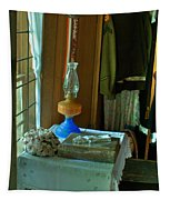 Oil Lamp And Bible Tapestry