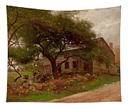 Old Farm House In The Catskills Tapestry
