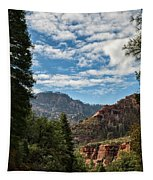 On The Road To Red Rocks  Tapestry