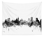Ottawa Canada Skyline Tapestry