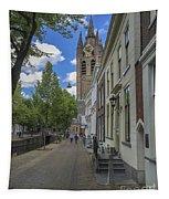 Oude Kerk In Delft Tapestry