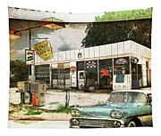Out Of Gas Tapestry