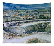 Outskirts Of Paris Tapestry