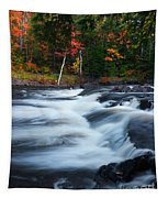 Oxtongue River Ontario Autumn Scenery Tapestry