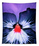 Pansy Power 76 Tapestry