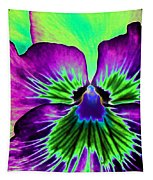 Pansy Power 84 Tapestry