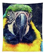 Parrot Art  Tapestry