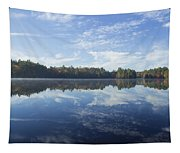 Pauper Lake Reflections Tapestry