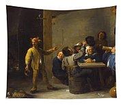 Peasants Celebrating Twelfth Night Tapestry