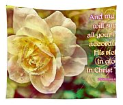 Philippians 4 19 Tapestry