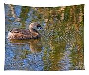 Pied Billed Grebe Tapestry