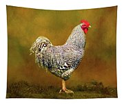Plymouth Rock Rooster Tapestry