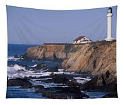 Point Arena Lighthouse Tapestry