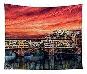 Ponte Vecchio Bridge Tapestry