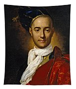 Portrait Of A Young Nobleman Tapestry