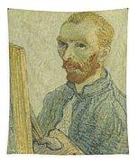 Portrait Of Vincent Van Gogh Tapestry