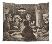 Potato Eaters, 1885 Tapestry