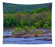 Potomac River Near Harpers Ferry Tapestry