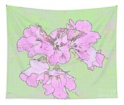 Purple And Green Tapestry