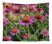 Purple Blooms Tapestry