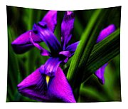 Purple Flower Tapestry