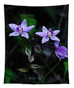 Purple Orchids 2 Tapestry