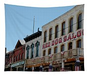 Red Dog Saloon Tapestry