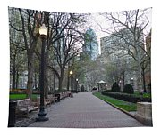 Rittenhouse Square In The Morning Tapestry