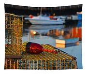 Rockport Ma Lobster Traps Tapestry