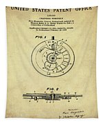 Rolex Watch Patent 1999 In Sepia Tapestry