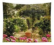 Rose Arbor Tapestry
