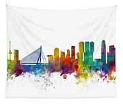 Rotterdam The Netherlands Skyline Tapestry